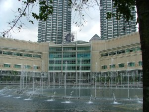 Suria KLL shopping mall at the base of the Twin Towers